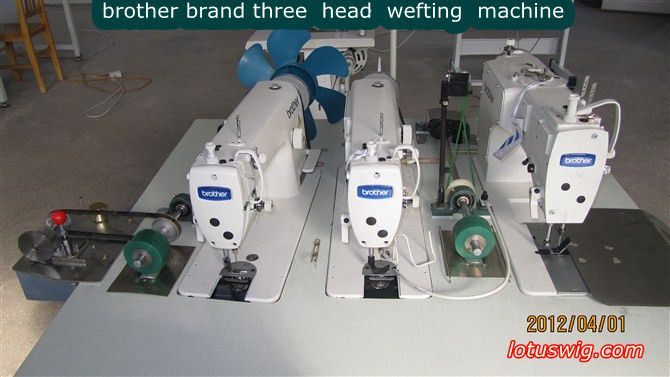 Brother Three Head Weft Machine Cool Hair Weave Sewing Machine